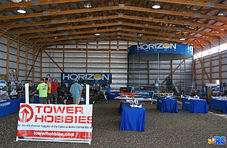 Inside the hangar with Tower Hobbies