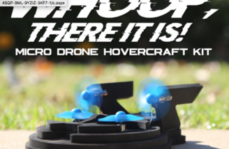 Get ready for some micro hovercraft fun