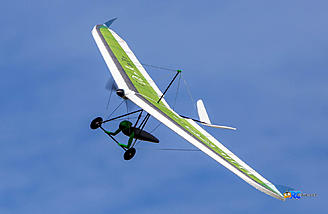 Looks like a Hang Glider, Handles like a Flying Wing