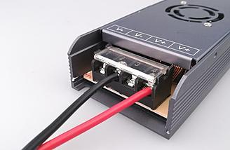 Dual output ports