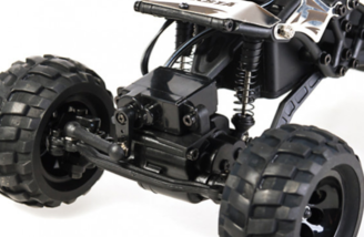 4 Wheel Steering with 4 Modes