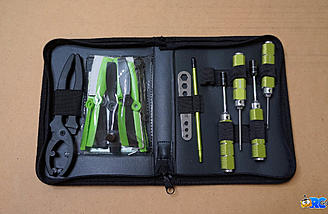 The separately purchased Blade Quad Racer Tool Set is a perfect accessory