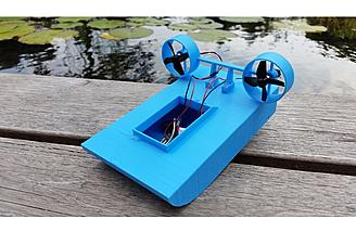 3D Printed Tiny RC Boat