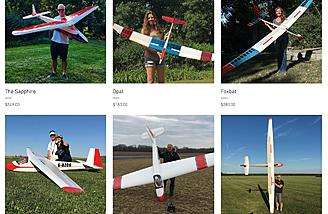 6 Sailplane Kits Available