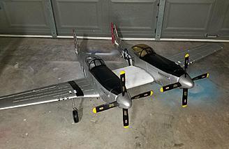 P-82 Twin Mustang Kit Bash