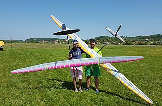 Aeromodelis Sense 4M F5J Competition Sailplane