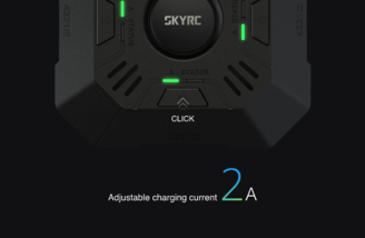 Easy button press to change charge rate