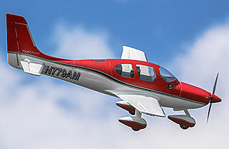 Based on CAD drawings provided by Cirrus Aircraft