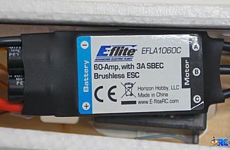 E-flite 60A ESC pre-installed