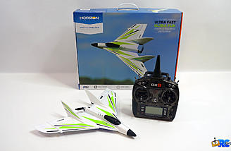 Add your Spektrum radio and 3S 300mAH lipo and you are ready to fly!