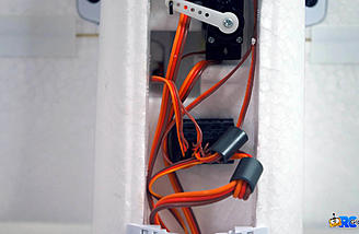 Install the LED leads to the lighting ports