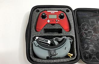 Holds the X-Lite, goggles and more