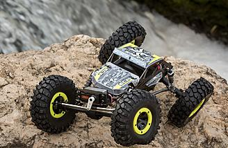 Huge articulation for tough terrain