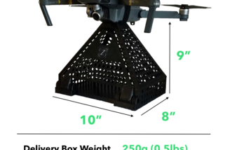 Delivery box size