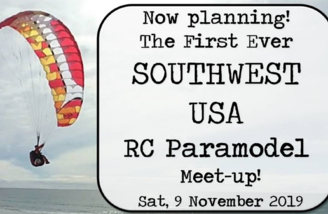 1st Annual RC Paraglider Event