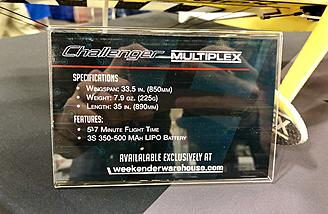 Challenger specs