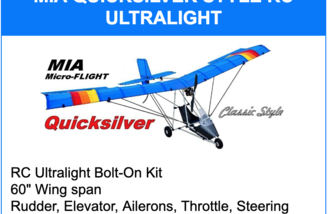 Quicksilver Style RC Ultralight