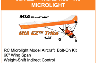 Article MIA Microflight RC Ultralight Aircraft - RC Groups