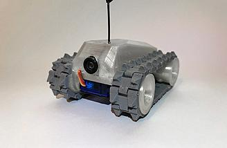 RC Drivable Micro Tank