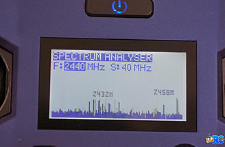 Spectrum Analyzer shows you the frequency environment