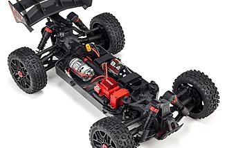 4WD drivetrain and slider driveshafts