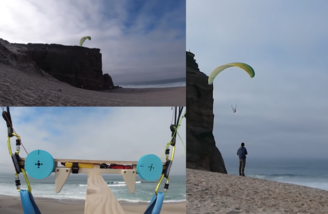 Full size RC Paraglider