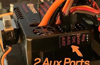 Firma 40 has 2 Aux ports