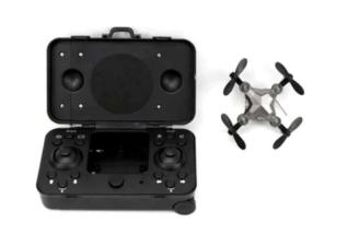 Suitcase drone