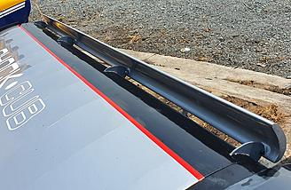 Leading edge slats for slow STOL fun