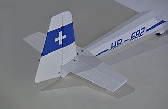 Ka8B Tail Section