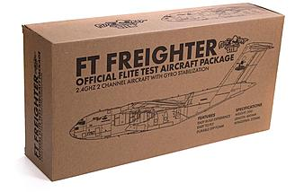 FT  Micro Freighter STEM RC Airplane comes in this box