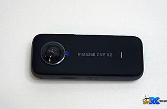 One X2 Front view with Lens and Status LED