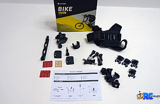 Bike Bundle provides many options for mounting the One X2 camera