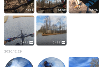 Easy access and organization to your video files form the Album