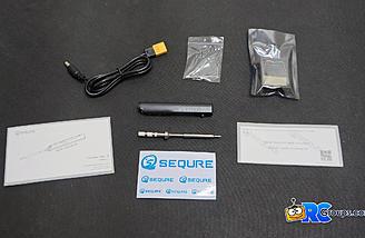 SQ-001 Soldering Iron Contents