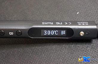 300C is the default temp
