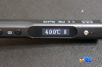 400C is the max temp