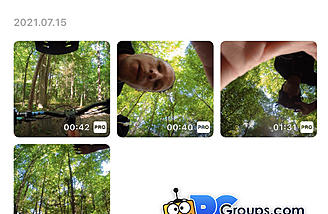 Files from both Local and Camera storage can be accessed, viewed and edited right in the app.