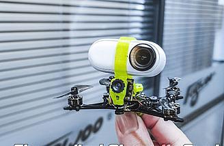 Can cary Insta360 GO camera