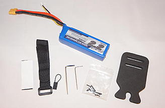 Battery and accessories