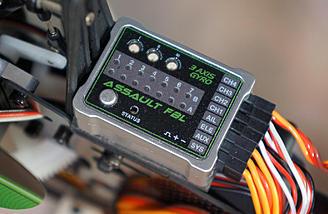 3 axis gyro stabilization unit