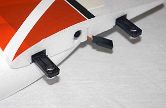 Wing locking system