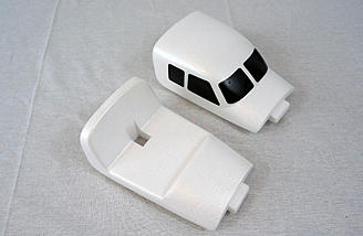 Standard and FPV front hatches