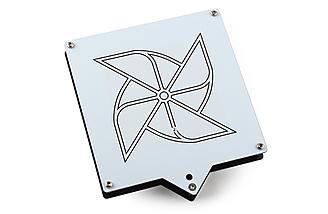 1.2Ghz Circular Wireless RHCP Patch Antenna