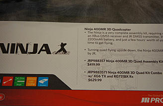 Ninja Spec Sheet