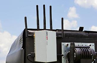 Antennas Pointed Straight Up