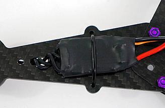 ESC's mounted