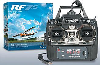 Realflight 7.5 with Interlink Elite Controller