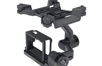 2-Axis GoPro gimbal - Plus Version Only