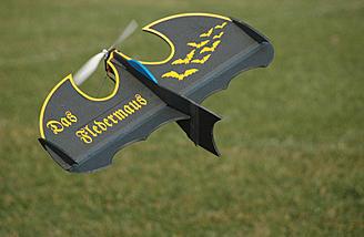 It's a bat plane!